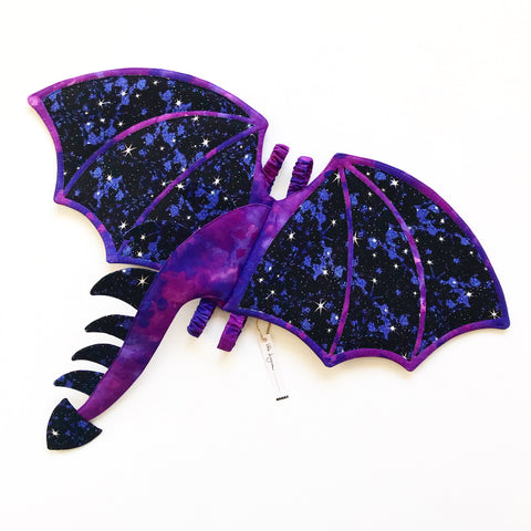 Galaxy Dragon Wings and Tail - Made-to-Order