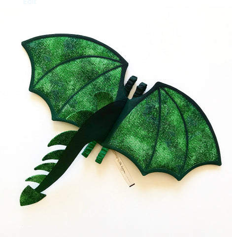 Rainforest Dragon Wings and Tail