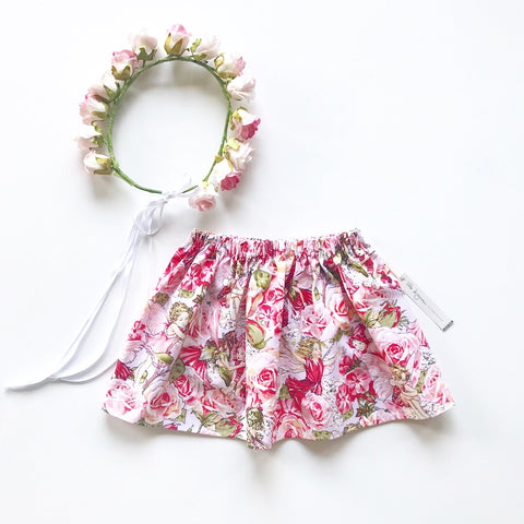 Pink Rose Fairy Skirt