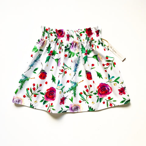 Girls Jolly Christmas Skirt
