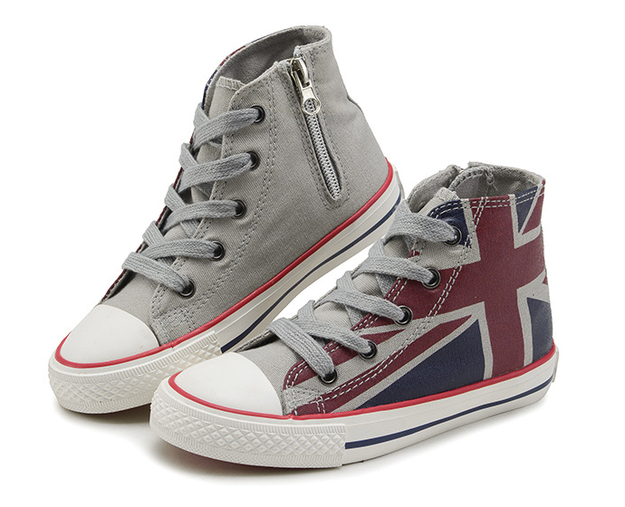 British Flag Casual High Top Sneakers