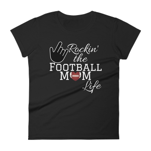 Rockin' the Football Mom Life Tee