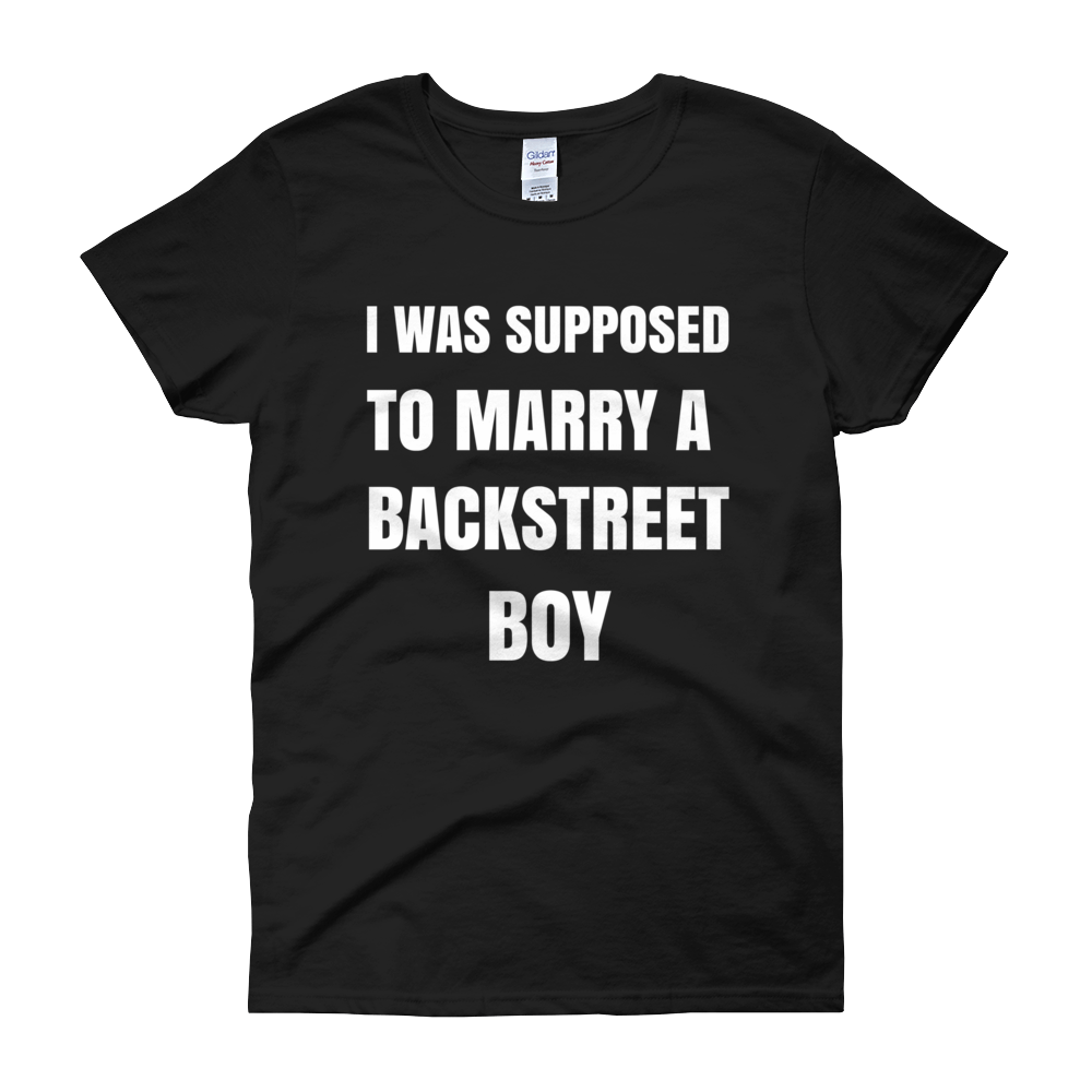 I Was Supposed to Marry a Backstreet Boy