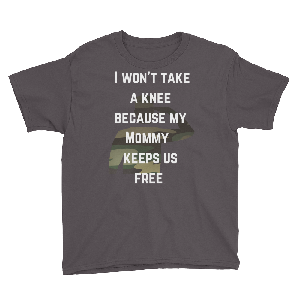 I Won't Take a Knee for my Mommy