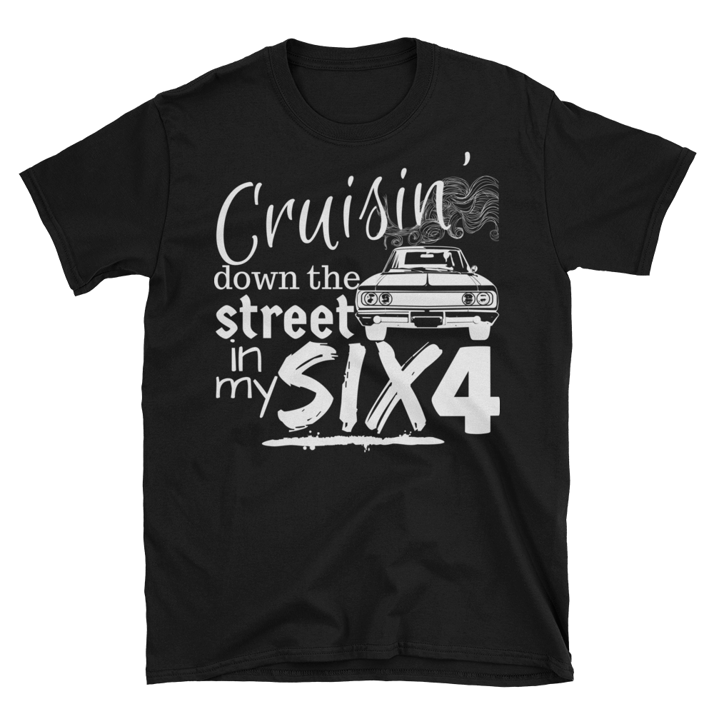 Cruisin' Down the Street Adult Tee