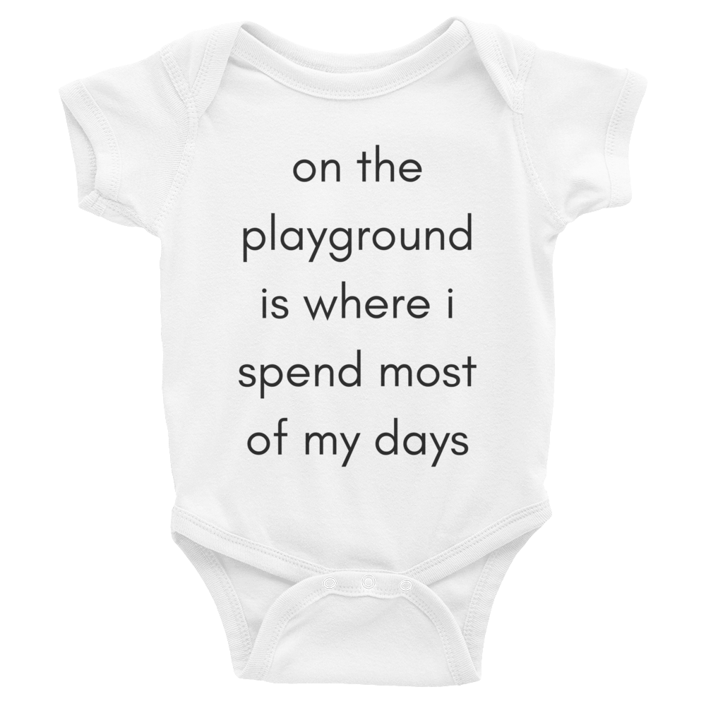 On the Playground Onesie