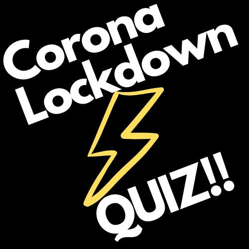 Lockdown Adults Quiz