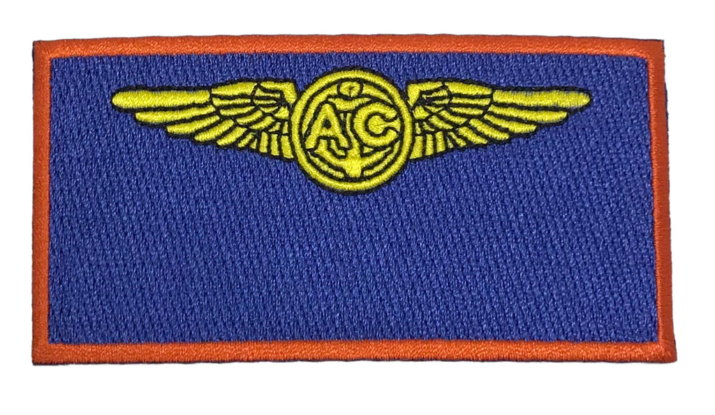 Embroidery Name and Rank