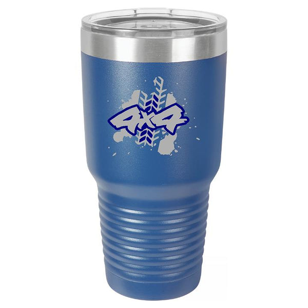 Classic Ford Bronco Logo Tumbler Cup - Engraved Effects