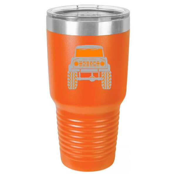 Personalized Classic Ford Bronco Tumbler Cup - Engraved Effects