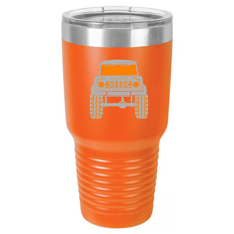 Classic Ford Bronco Tumbler Cup - Engraved Effects