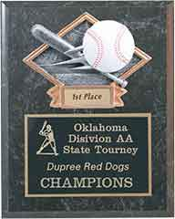 Baseball Plaque - Engraved Effects