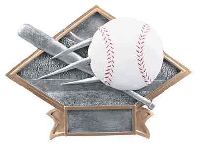 Baseball Plaque Trophy - Engraved Effects