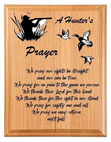 A Duck Hunter's Prayer - Engraved Effects