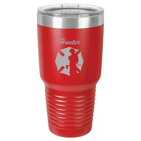 Firefighters Personalized Tumbler/Cup - Engraved Effects