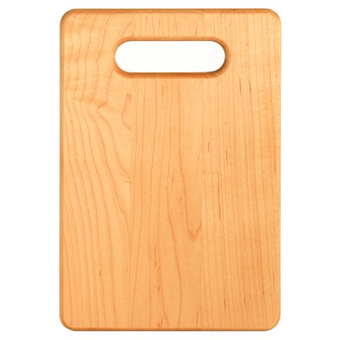 Personalized Maple Cutting Board - Engraved Effects