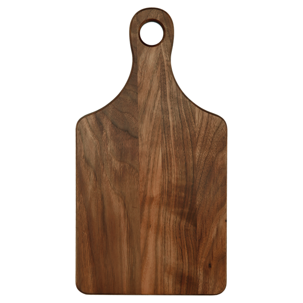 Personalized Walnut Cutting Board - Engraved Effects
