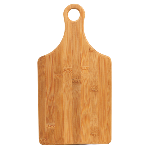 Personalized Bamboo Cutting Board - Engraved Effects