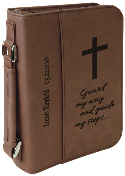 Bible Case Holder Cover - Engraved Effects