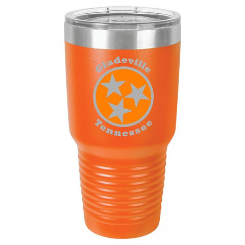 Gladeville Tennessee TriStar Tumbler Cup - Engraved Effects