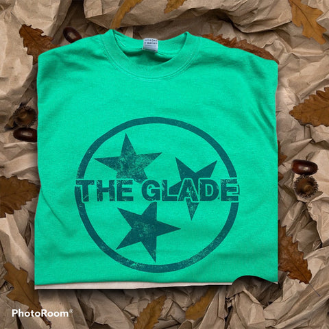 The Glade TriStar Tees - Engraved Effects