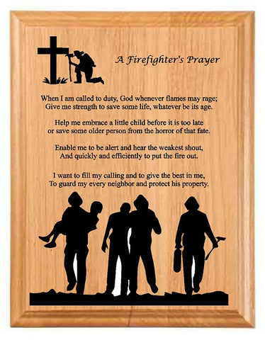 Firefights Prayer D2 - Engraved Effects