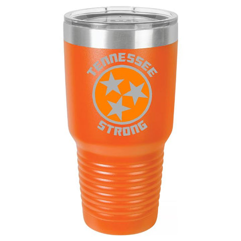 Tennessee Strong Tumbler Cup D1 - Engraved Effects