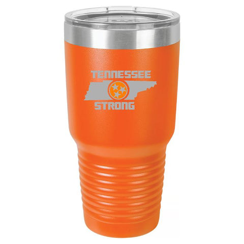 Tennessee Strong Tumbler Cup D2 - Engraved Effects
