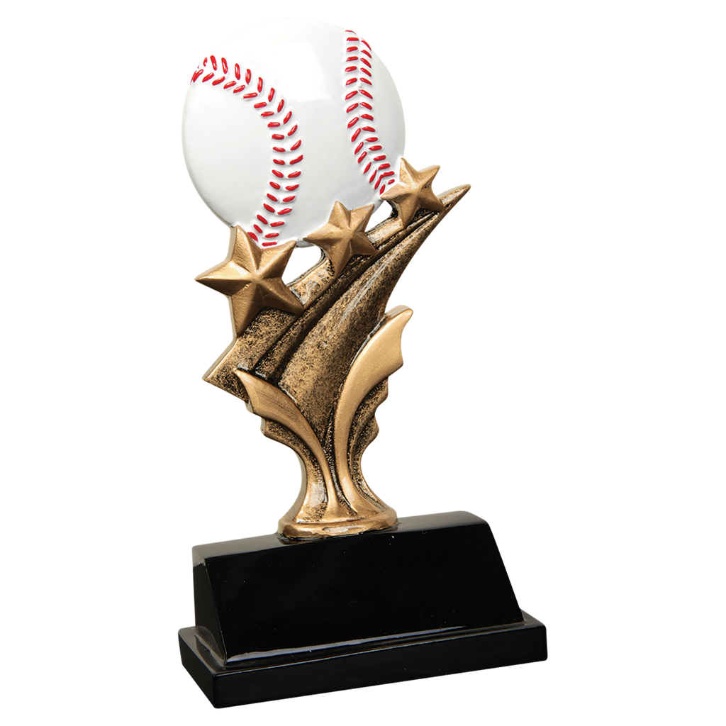 Baseball Player/Coach Trophy - Engraved Effects
