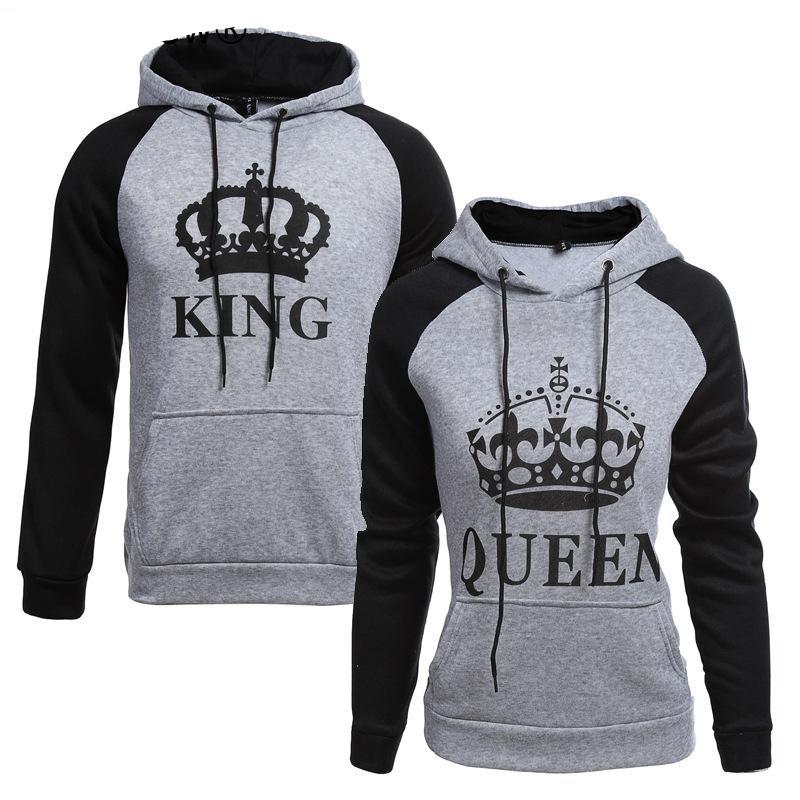 KING & Queen Hoodies - Bluebubbly