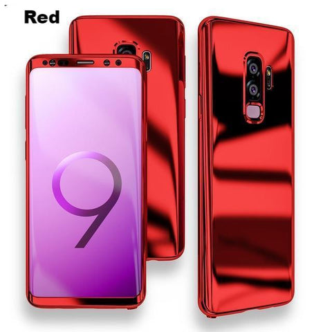 For Galaxy S9 Luxury Mirror Cover