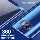360 Degree Full Body Protection Case For S8 S8 Plus - Bluebubbly