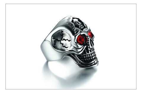 Skull Ring Hiphop