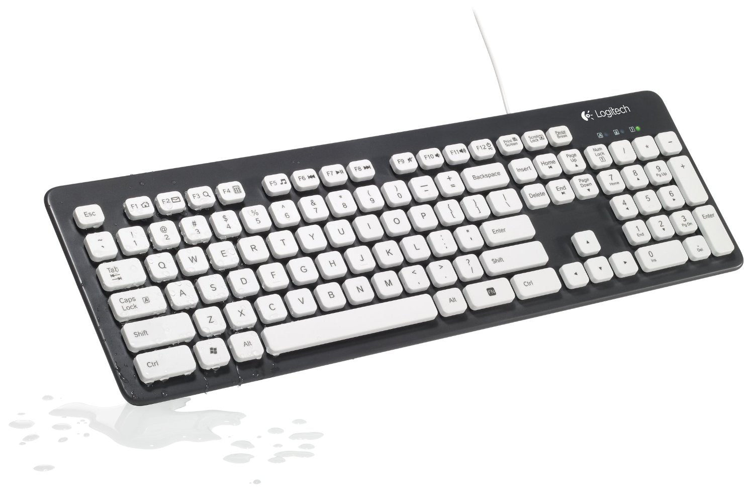 Logitech Washable Keyboard K310 - Bluebubbly