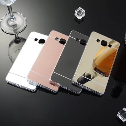 Luxury Ultra Thin Bling Mirror Soft Case
