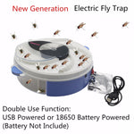 Electric Fly Trap - Bluebubbly