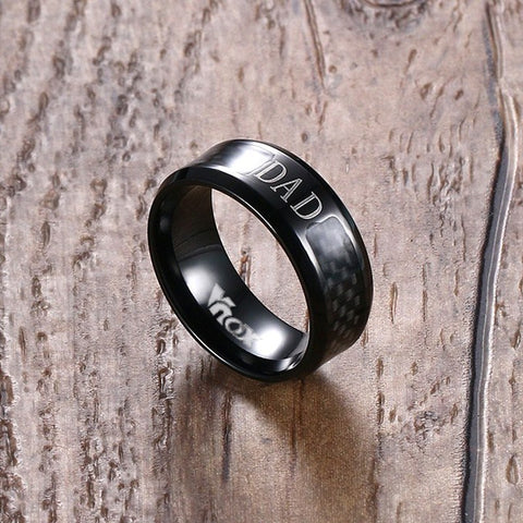 Men Ring DAD Gift