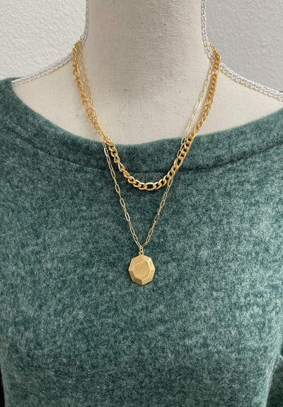 MARY ELIZABETH GOLD NECKLACE