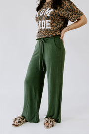 CUTE & COZY LOOSE FIT DRAWSTRING PANTS