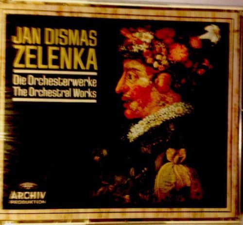 Jan Dismas Zelenka - Die Orchesterwerke (The Orchestral Works)-CDs-Palm Beach Bookery