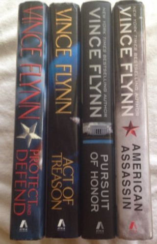 Vince Flynn Lot of 4 First Printings Hardcover Books-Up to 5 Items-Palm Beach Bookery