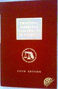 Drafting marriage contracts in Florida By: The Florida Bar (Author)-Books-Palm Beach Bookery
