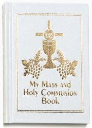 My Mass and Holy Communion Book ((Standard White))-Book-Palm Beach Bookery