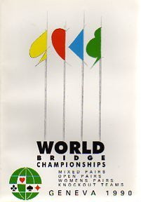 1990 World Bridge Championship Book: Geneva - By: Tony Sowter (Editor)-Books-Palm Beach Bookery