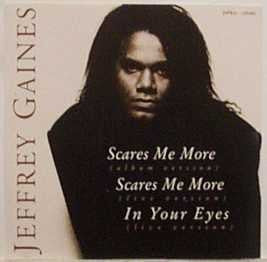 Jeffrey Gaines - Scares Me More, Scares Me More, In Your Eyes-CDs-Palm Beach Bookery