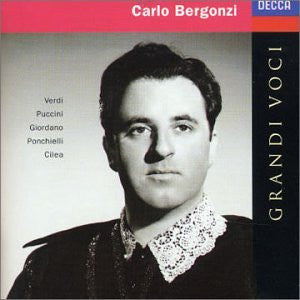 Carlo Bergonzi - Grandi Voci-CDs-Palm Beach Bookery
