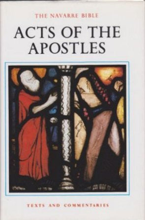 Acts of the Apostles (The Navarre Bible) - By: José María Casciaro (Editor)-Books-Palm Beach Bookery