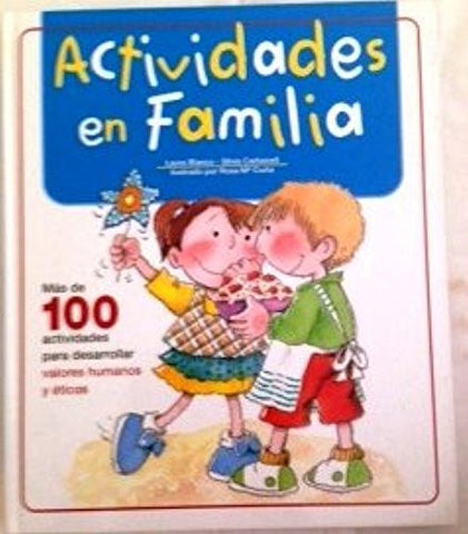Actividades En Familia - By: Laura Banco-Books-Palm Beach Bookery