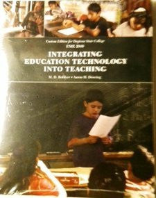 Integrating Education Technology Into Teaching -5th Edition - (Custom Edition for Daytona State College)-Book-Palm Beach Bookery