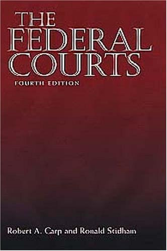 The Federal Courts, 4th Edition-Book-Palm Beach Bookery